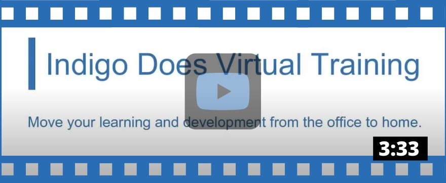 Online/Virtual Training from Indigo