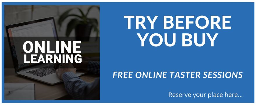 Online learning - try before you buy
