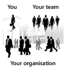 You, your team, your organisation
